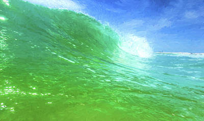 Photograph - South Walton Surf by JC Findley