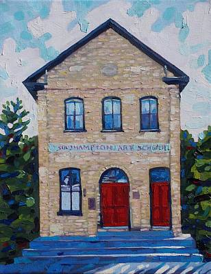 Southampton Art School Original by Phil Chadwick