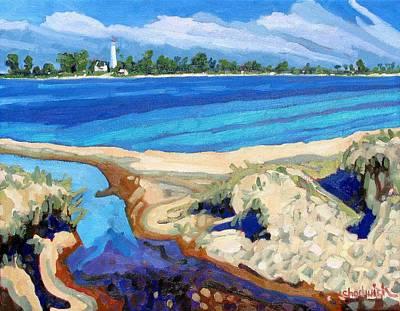Southampton Dunes Art Print by Phil Chadwick
