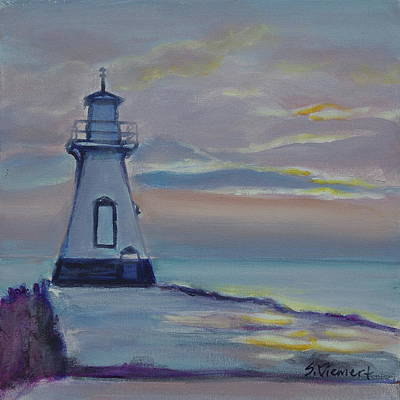 Painting - Southampton Lighthouse - 010 Of Celebrate Canada 150 by Sheila Diemert