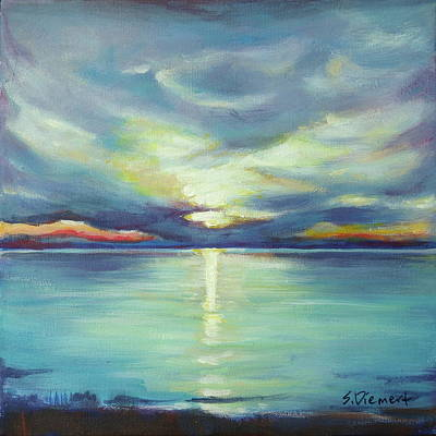 Painting - A Southampton Sunset - 006 Of Celebrate Canada 150  by Sheila Diemert
