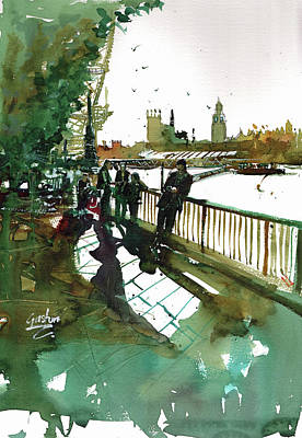 Painting - Southbank by Gaston McKenzie
