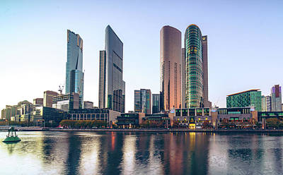 Photograph - Southbank Melbourne by Nisah Cheatham