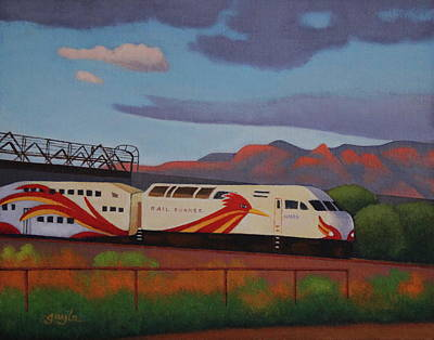Painting - Southbound by Gayle Faucette Wisbon