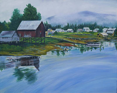 Painting - Southeast Alaska by Donna Drake