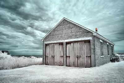 Photograph - Southeast Light Boathouse by Luke Moore