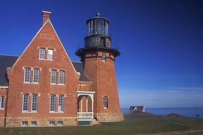 Photograph - Southeast Lighthouse Block Island by John Burk