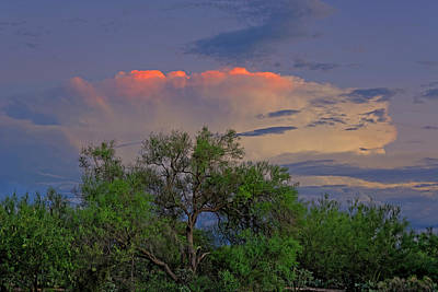 Art Print featuring the photograph Southeast Of Sunset H38 by Mark Myhaver
