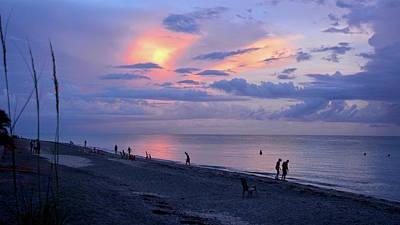 Photograph - Southeast Side Of A Sunset by Carol Bradley
