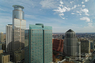 Photograph - Southeast View From The Foshay Observation Deck by Natural Focal Point Photography