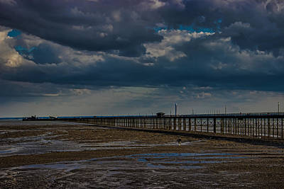 Essex Wall Art - Photograph - Southend Pier by Martin Newman