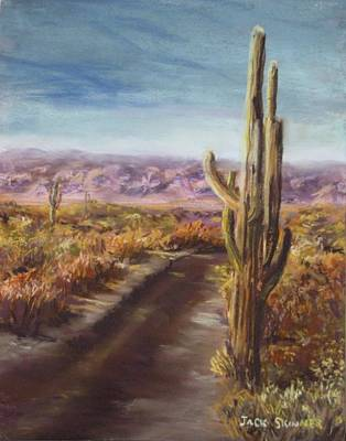 Painting - Southern Arizona by Jack Skinner