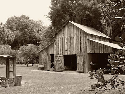 Southern Barn Art Print