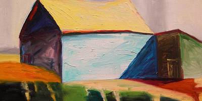 Jmwportfolio Painting - Southern Barn by John Williams
