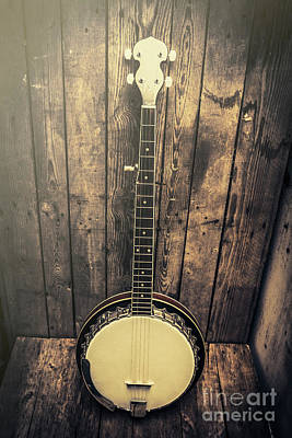Banjo Photograph - Southern Bluegrass Music by Jorgo Photography - Wall Art Gallery