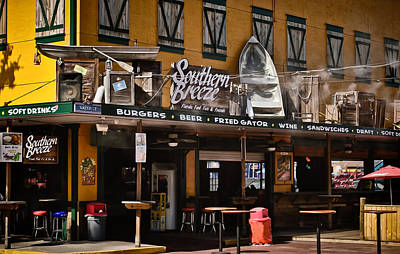 Photograph - Southern Breeze Bar by Greg Jackson