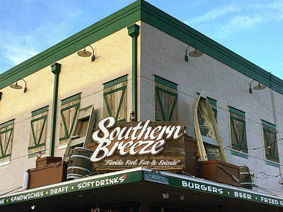Photograph - Southern Breeze Restaurant by Denise Mazzocco