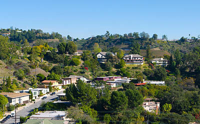 Photograph - Southern California Houses by Melinda Fawver