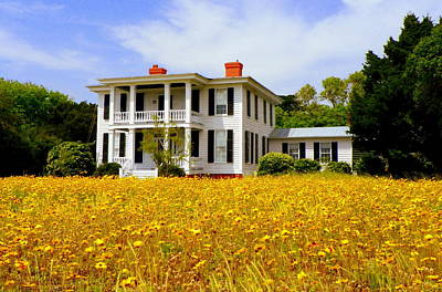 Southern Homes Photograph - Southern Charm by Karen Wiles