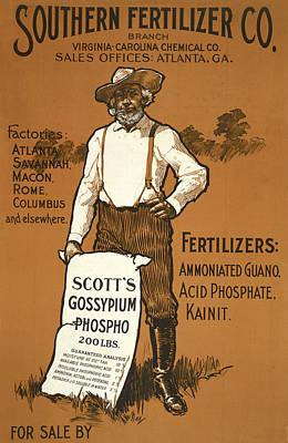 Digital Art - Southern Fertilizer Co by Phat Artz