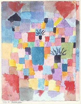 Painting - Southern Gardens by Paul Klee