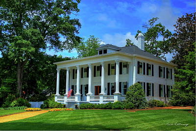 Photograph - Southern Glory Antebellum Home Madison Georgia by Reid Callaway