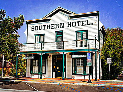 Photograph - Southern Hotel - Perris by Glenn McCarthy Art and Photography
