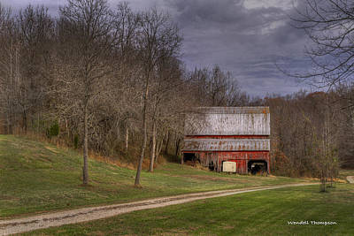 Photograph - Southern Indiana Barn by Wendell Thompson