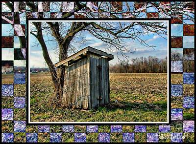 Southern Indiana Outhouse Art Print