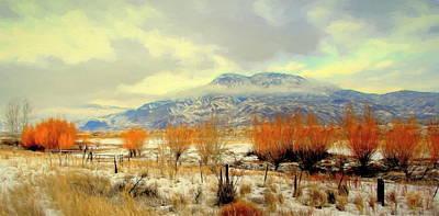 Photograph - Southern Interior Vista Bc by Kathy Bassett