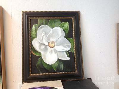 Painting - Southern Magnoila by Elaine Callahan