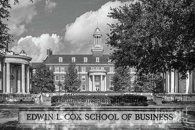 Photograph - Southern Methodist University Cox School Of Business by University Icons