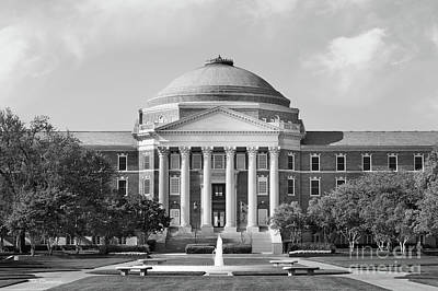 Photograph - Southern Methodist University Dallas Hall by University Icons