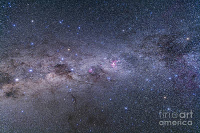 Southern Milky Way From Vela Art Print by Alan Dyer