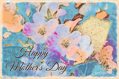 Photograph - Southern Missouri Wildflowers -1 Mother's Day Card by Debbie Portwood