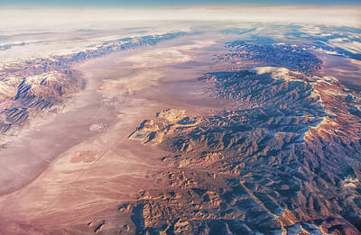 Photograph - Southern Nevada From Above by Marc Crumpler