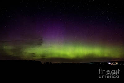 Photograph - Southern Ontario Aurora by FotoSchut Photography