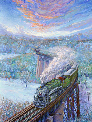 Painting - Southern Over The Cumberland by Gary Symington