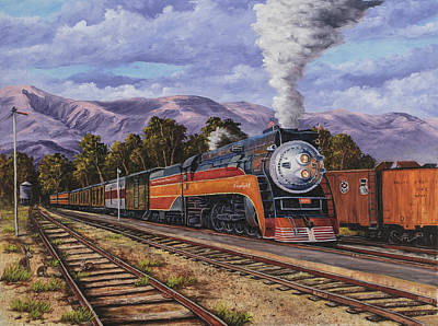 Painting - Southern Pacific Daylight by Darice Machel McGuire