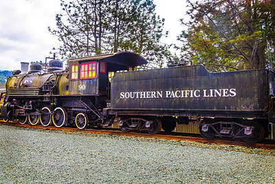Southern Pacific Lines Old Train Art Print by Garry Gay