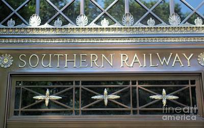 Photograph - Southern Railway Building by John S