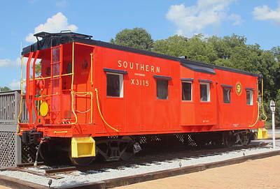 Photograph - Southern Railway X3115 B by Joseph C Hinson Photography