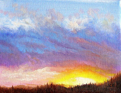 Painting - Southern Sunset by JoAnne Castelli-Castor