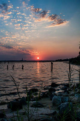Photograph - Southern Sunset by Mechala Matthews