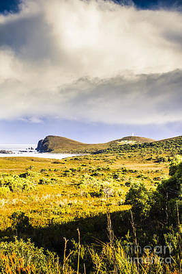 Topography Wall Art - Photograph - Southern Tip Of Bruny Island by Jorgo Photography - Wall Art Gallery