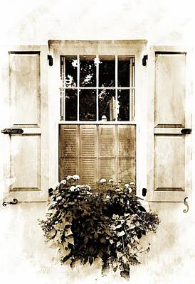Digital Art - Southern Window by Debbie Green