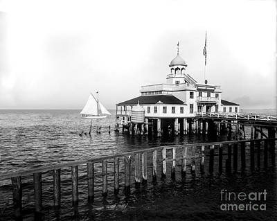 Southern Yacht Club  New Orleans Ca 1890 Art Print