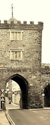 Photograph - Southgate Arch Launceston Cornwall by Richard Brookes