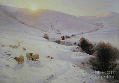 Joseph Farquharson Painting - Southland Hills by Celestial Images