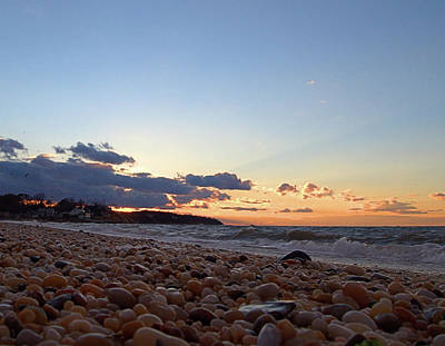 Photograph - Southold Beach by Newwwman